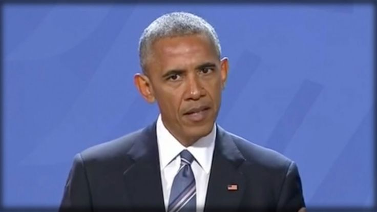BREAKING: OBAMA JUST WENT ONSTAGE IN GERMANY & BETRAYED AMERICA WITH 7 W...