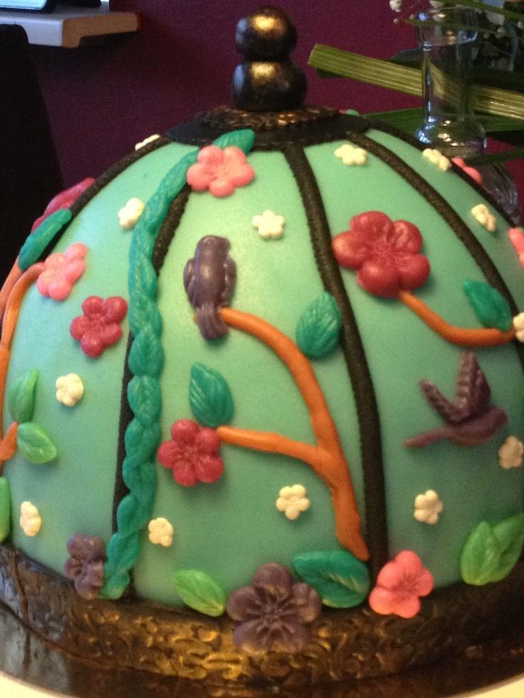 Birdcage cake/ vogelkooi taart