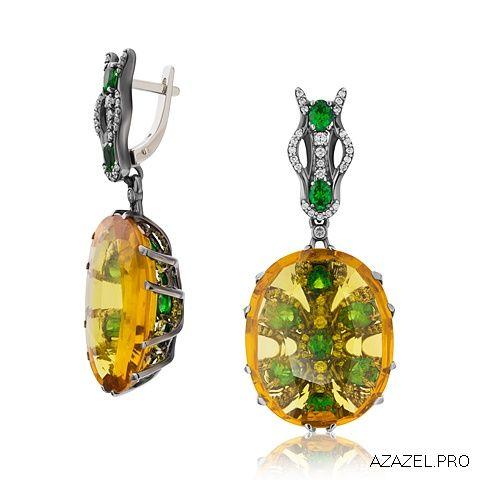 Серьги с Сапфирами Earrings with Sapphire  #earrings #moscow #алмаз #москва #сапфир #красота #бриллиант #мода #любовь #fashion #серьги #кольцо #jewelry #flowers #ярмарка #цветы #gemstone #exclusive #handmade #эксклюзив #подарок #ювелир #almaz #перстень #diamond #сувенир #галерея #sapphirelv #loveu