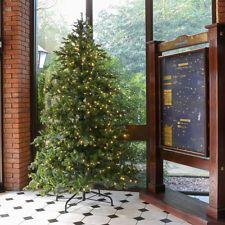 9FT MAINS INDOOR GREEN PRE LIT RICHMOND FIR ARTIFICIAL CHRISTMAS LED LIGHT TREE