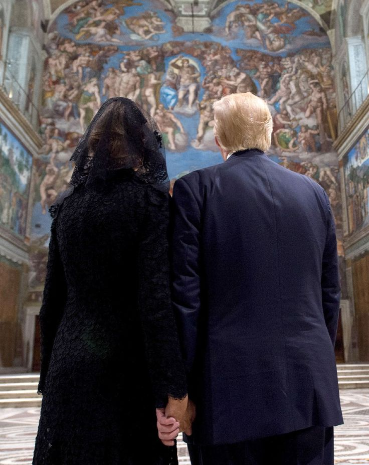 To Have and To Hold: President Trump and First Lady Melania Grasp Hands at the Vatican After Two Viral Snubs