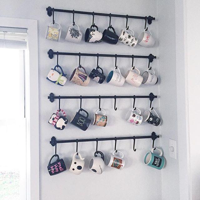 Best 25 Coffee mug storage ideas only on Pinterest Mug rack