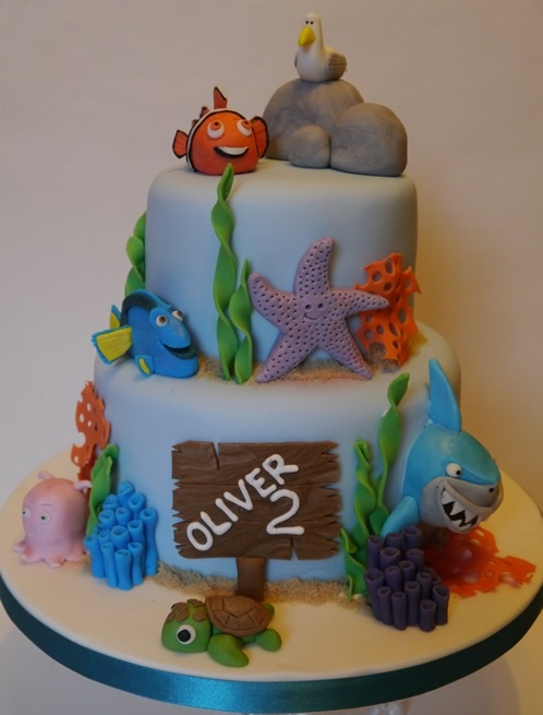 Cake Design Nemo : 165 best images about Finding Nemo Cakes on Pinterest ...