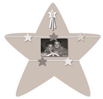 Baby Cadre Pêle-Mêle Étoile 5 Vues fait main de Titoutam