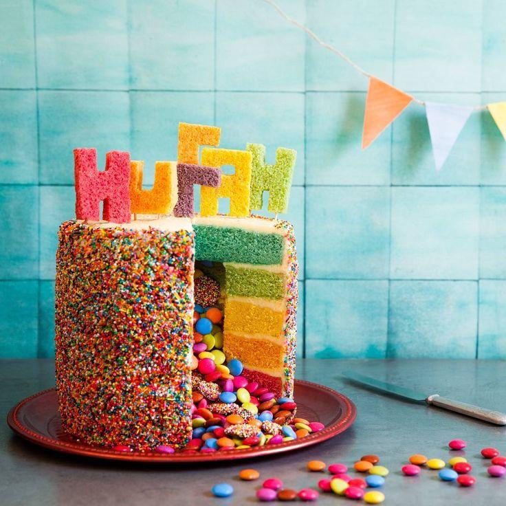 パーティーにオススメ海外で人気のサプライズケーキピニャータケーキの作り方