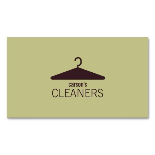 Modern Dry Cleaning Business Card Business Card Templates