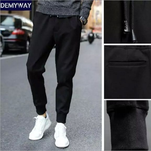 New Fashion 2017 Joggers Men Brand Feet Shrink Feet Sweatpants Male Compression Pants Casual Tactical Pants. Click visit to buy #SkinniPants