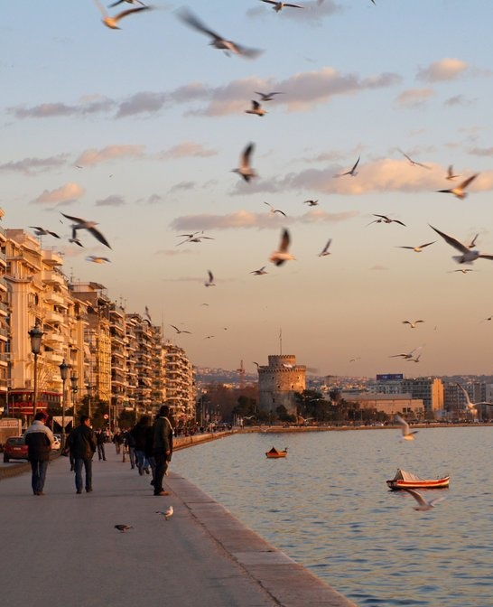 Sunset..Thessaloniki, Greece / photo by Mprintochainis