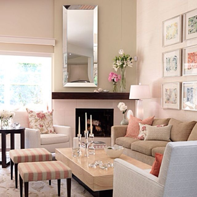 Sarah Check Hearth Cabinet: Corner Fireplace Furniture Arrangement