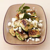 Gegrillte Zucchini mit Feta 2PP