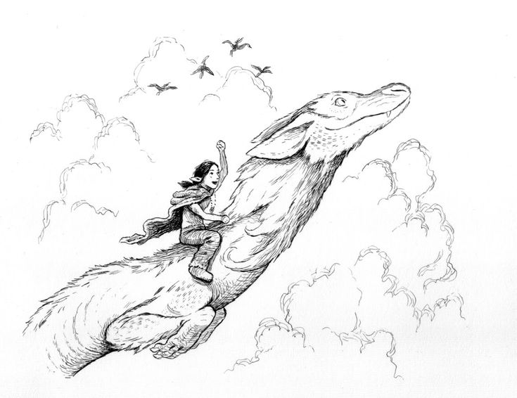 neverending story coloring pages | 17 Best images about Mythical Creatures on Pinterest ...