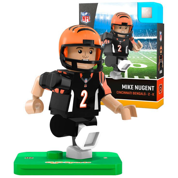 Mike Nugent Cincinnati Bengals OYO Sports Generation 5 Player Minifigure - $10.39