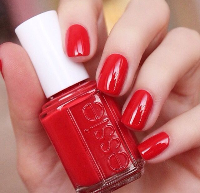 Pastel Orange Nail Polish Essie: 145 Best Red Nails Images On Pinterest