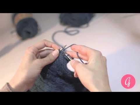 chiusura delle maglie - bind off - lavoro a maglia