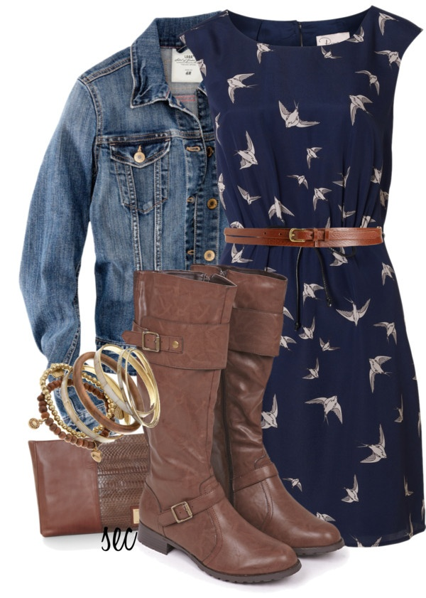 """""""Bird Dress"""" by coombsie24 ❤ liked on Polyvore"""