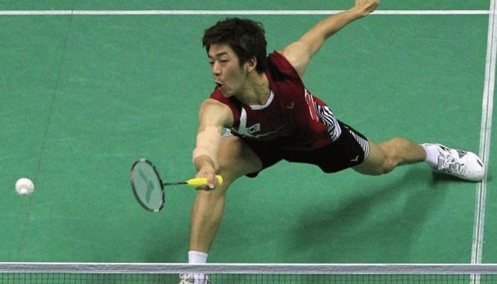 South Korea's ''Big Dragon'' chases Asian Games badminton gold
