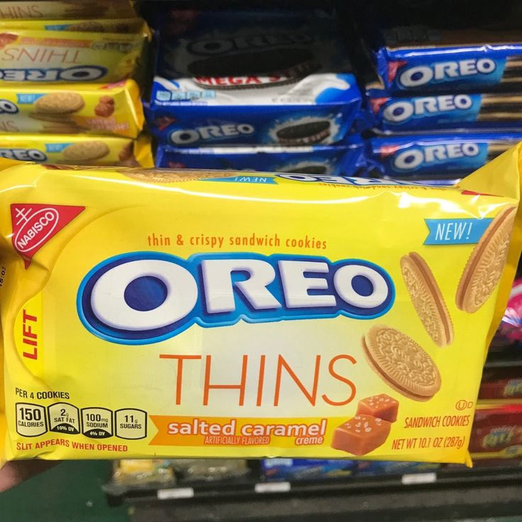 NABISCO OREO THINS IN SALTED CARAMEL AND COCONUT...