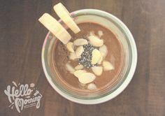 Koktajl na pobudzenie: banan, kawa i nasiona chia! |