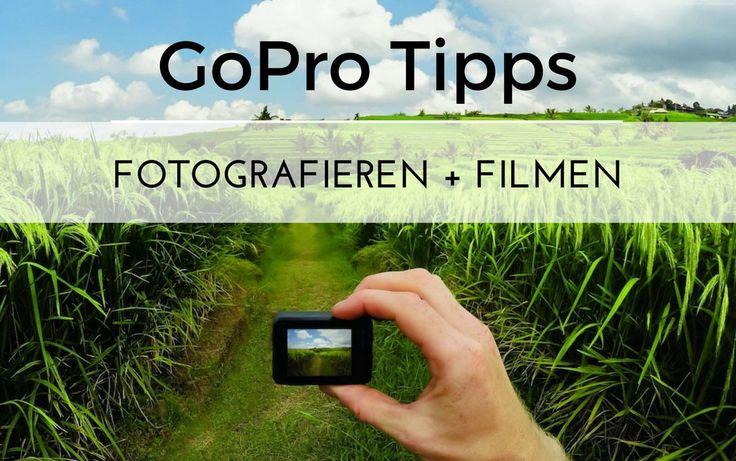 Alles Wissenswerte über Action-Cams: Die besten Modelle, Fototipps + Zubehör auf Reisen http://onyourpath.net/mit-der-gopro-fotografieren-filmen-guide-10-tipps-fur-bessere-aufnahmen/