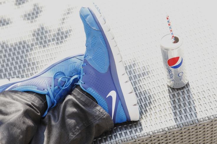 Kickin' in style!