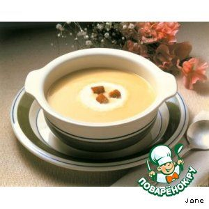 Суп-пюре грибной.