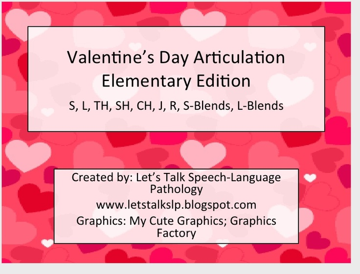 top 22 ideas about speech therapy valentines day on pinterest feelings valentines and. Black Bedroom Furniture Sets. Home Design Ideas
