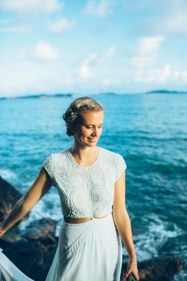 43 best Super Stylish Two-Piece Wedding Dresses images on Pinterest ...