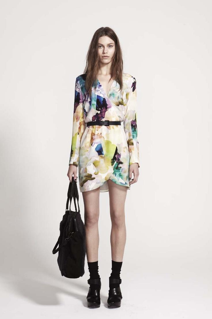 Life with Bird Collide dress
