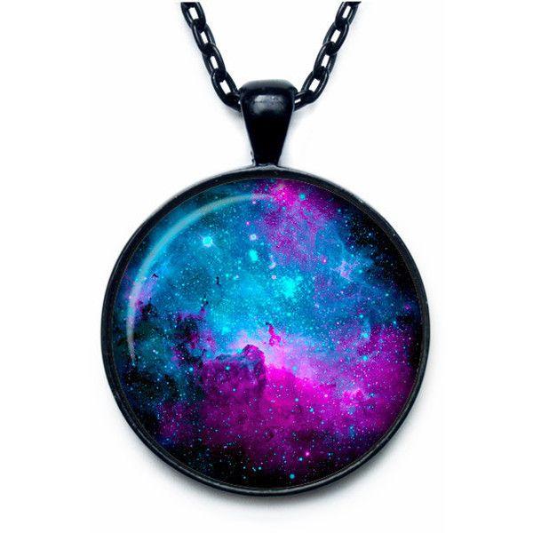 NEBULA Pendant Nebula Necklace Universe Jewelry galaxy necklace... ($14) ❤ liked on Polyvore featuring jewelry, necklaces, accessories, galaxy necklace, chain necklaces, pendant necklace, cosmic jewelry and chains jewelry