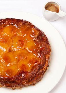 Jak vařím doma: Tarte tatin - slavný francouzský obrácený koláč