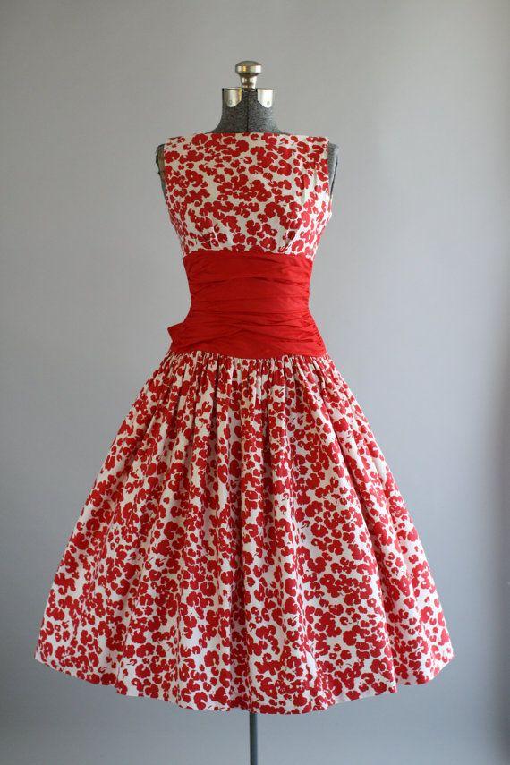 Vintage 1950s Jonathan Logan Dress