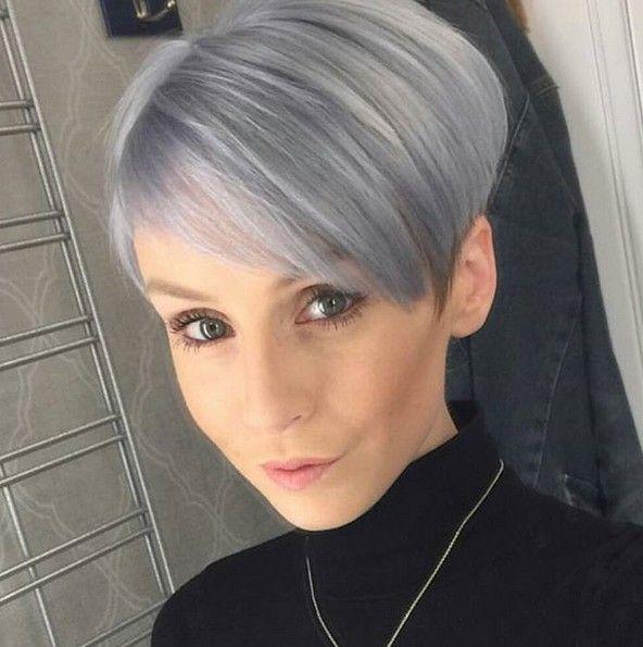 Straal met jouw grijze haar! Deze 13 trendy korte kapsels mogen gezien worden…
