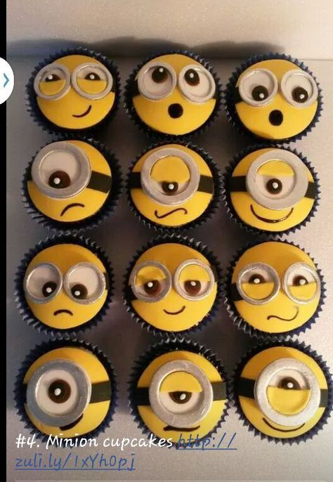 Minion cupcakes!!