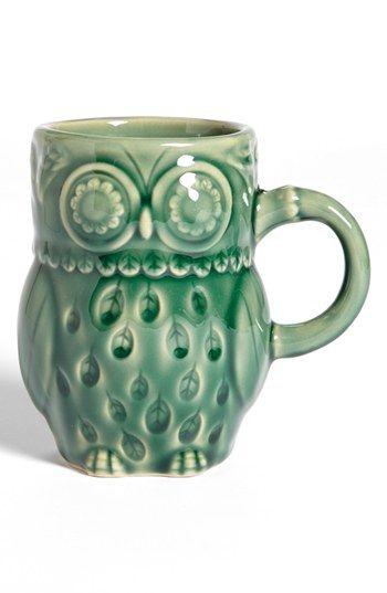 Gibson Owl Mug Pinned by www.myowlbarn.com