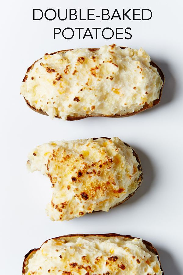 Double-Baked Stuffed Potatoes Recipe #BiteMeMore