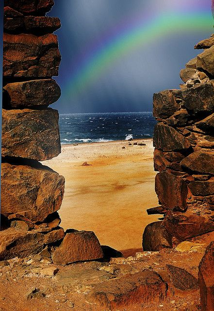 ✮ Rainbow in Aruba