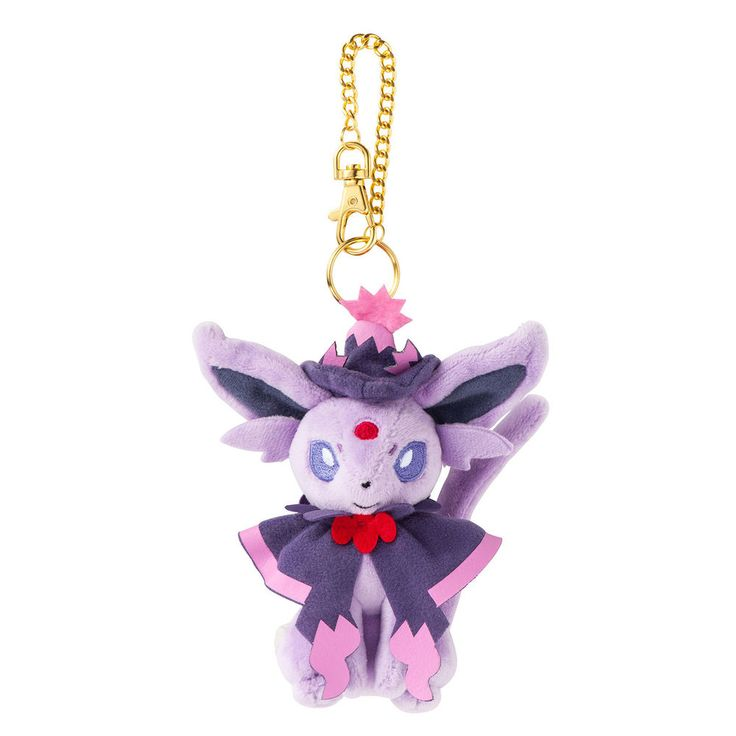 Espeon Pokemon Halloween Circus Plush Mascot Keychain ❤ Japan 2016 Pikachu   eBay