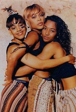 TLC loved the movie.  Forever & always my favorite group. I always wanted to be Chilli but in the end I turned out to be more like Left Eye lmao ♡