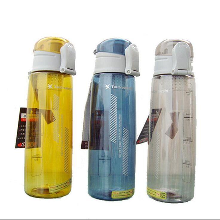 New Portable Sports Drink Jug Plastic Space Water Bottle Sports Water Bottle 700ml 900ml