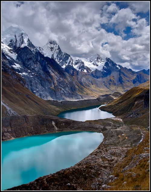 ✯ Shades of blue on the Huayhuash Trek in Peru