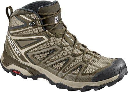 60c97dc76e1 Salomon Men's X Ultra 3 Mid Aero Hiking Boots Vintage Khaki/Wren 13 ...