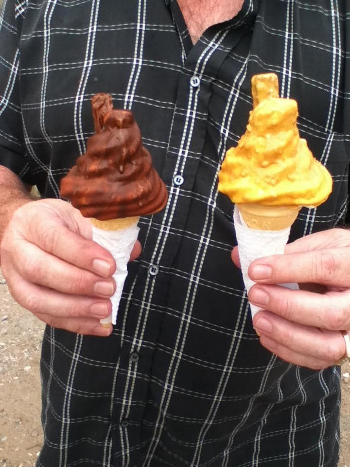 We loved the diary den - especially ice cream covered in crunchie