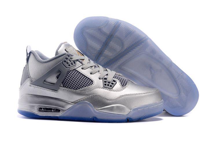 Air Jordan 4 ALL Silver
