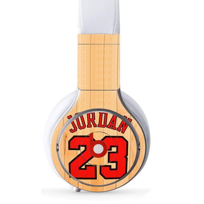 Jordan 23 decal for Monster Beats Pro wireless headphones