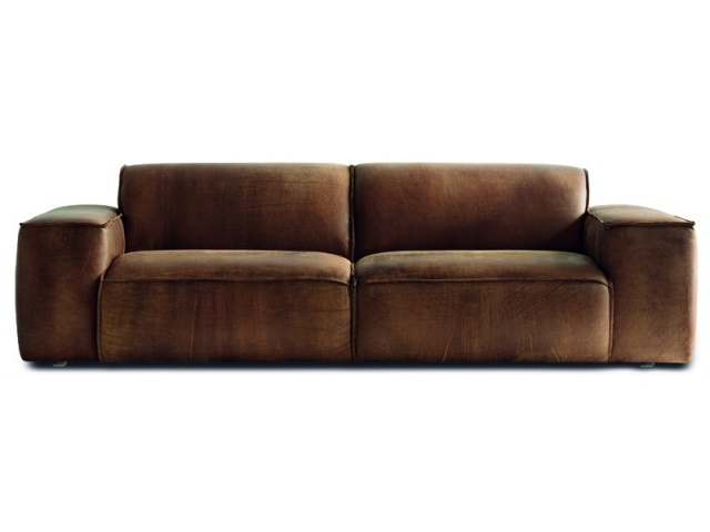 Marconi 3 Seater Sofa (Rustica Leather)