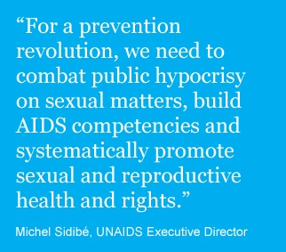 Reducing sexual transmission of HIV/AIDS