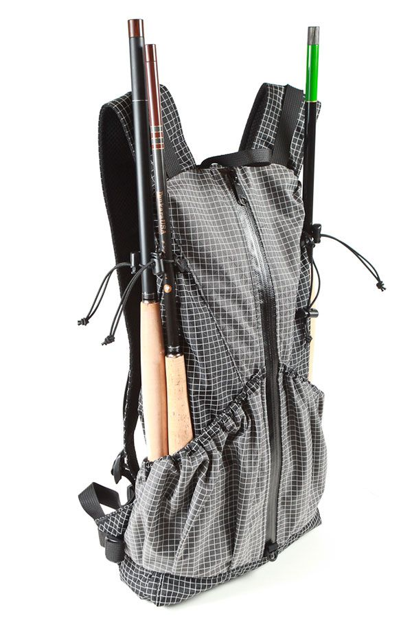 Tenkara backpack from traillite designs need this to for Backpacking fishing kit