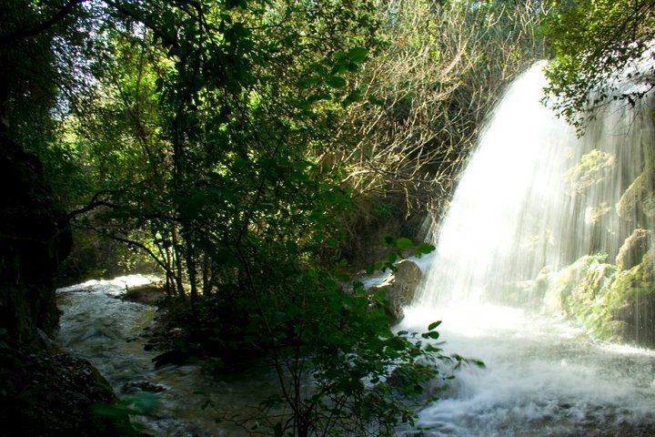 Beautiful waterfalls in the Nurallao's territory