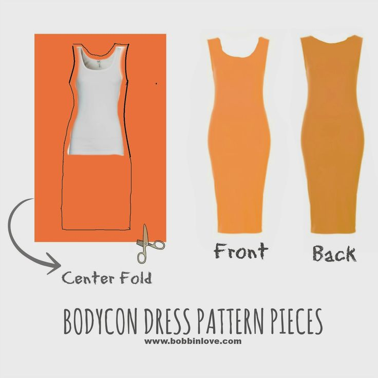 DIY Bodycon Dress Sewing Pattern, bodycon dresses in different ...
