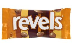 Revels - The quirky personality of REVELS is revealed through its product mix of MALTESERS, Chocolate, Coffee, Raisin, Toffee, and Orange